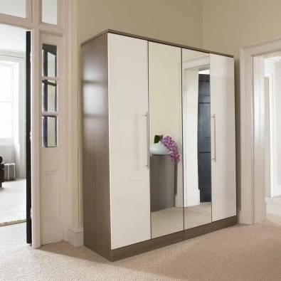 Dulap cu oglinzi pentru dormitor MB136