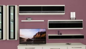 Mobila Living in stil modern din lemn PAL MB366