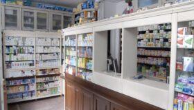 Mobila farmacie din lemn masiv - remob