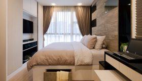 mobilier dormitor maro