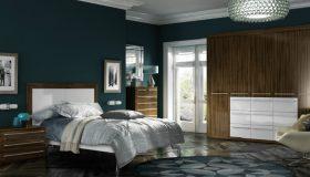 mobilier dormitor maro 4
