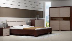 mobilier dormitor maro nuante mixte 5