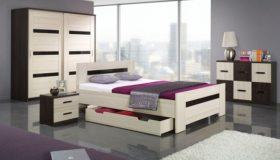 mobilier dormitor maro nuante mixte 6